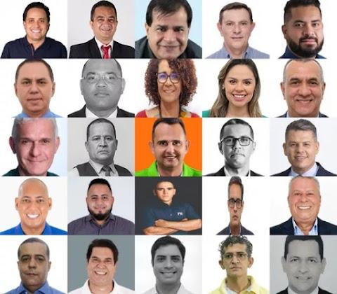 Vereadores eleitos em Cuiabá