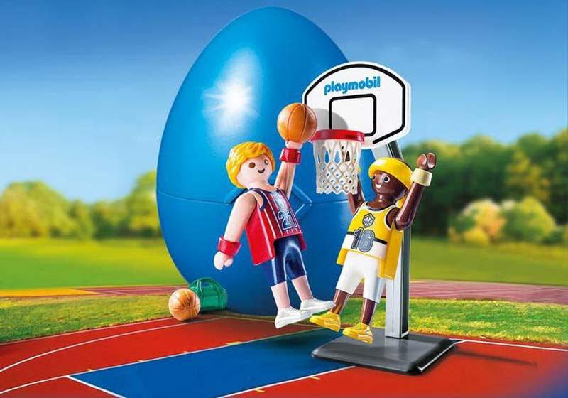 Contenido real de Playmobil® 9210 Jugadores Baloncesto