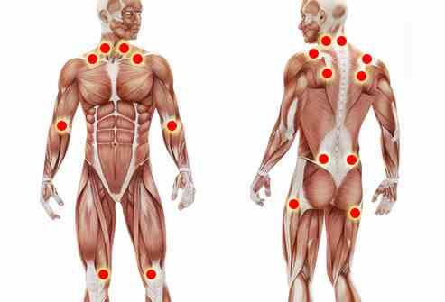 الم في جميع عضلات الجسم