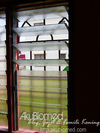 Bingkai besi cermin tingkap yang siap dipasang