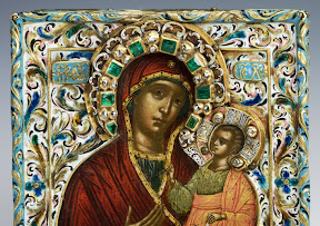 Icon. Tikhvin Mother of God, Moskow, 17th C.