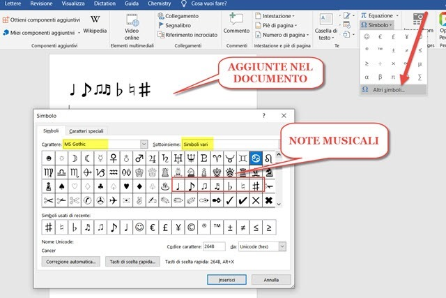 note-musicali-word