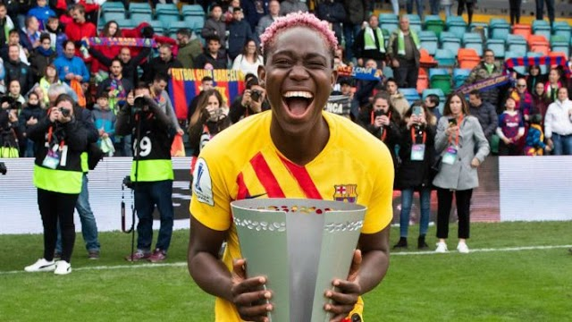 Barcelona Men Team To Sign Asisat Oshoala After Champions League Win