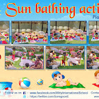 Sun Bathing Activity by Playgroup Section (2018-19), Witty World, Goregaon East