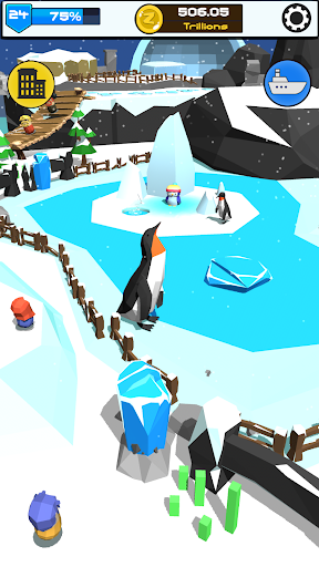 Idle Zoo 3D: Animal Park Tycoon android2mod screenshots 13
