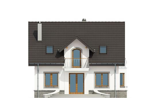 Dom Dla Ciebie 3 bez garażu B - Elewacja tylna
