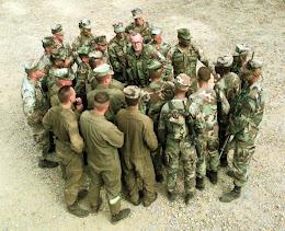 Ba Mcdonald Teach Soldiers Public Speaking