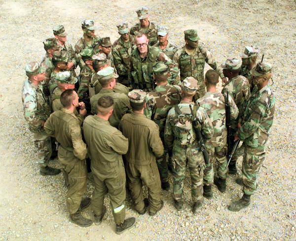 Ba Mcdonald Teach Soldiers Public Speaking, Ba Mcdonald