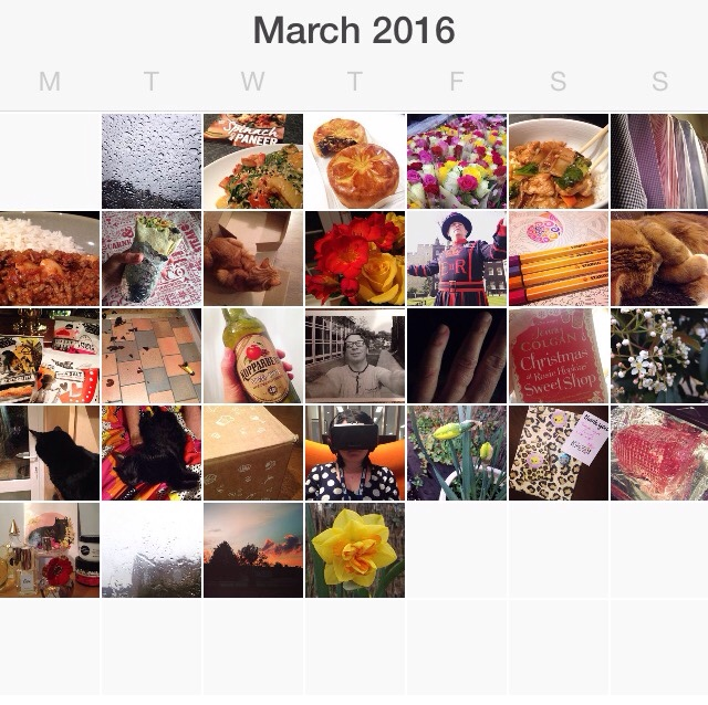 I started a photo a day project back in 2014 - this is my PAD and round up for March 2016