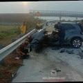 Terlibat Kecelakaan di Tol JoMo, Pengemudi Honda Brio Tewas