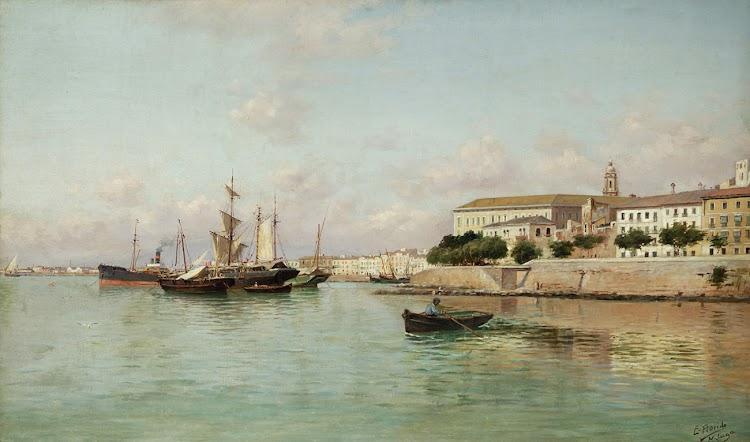 Puerto de Malaga. Enrique Florido Bernils. Setdart.jpg