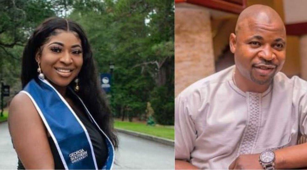 MC Oluomo's daughter, Nofisat bags a degree in nursing in US