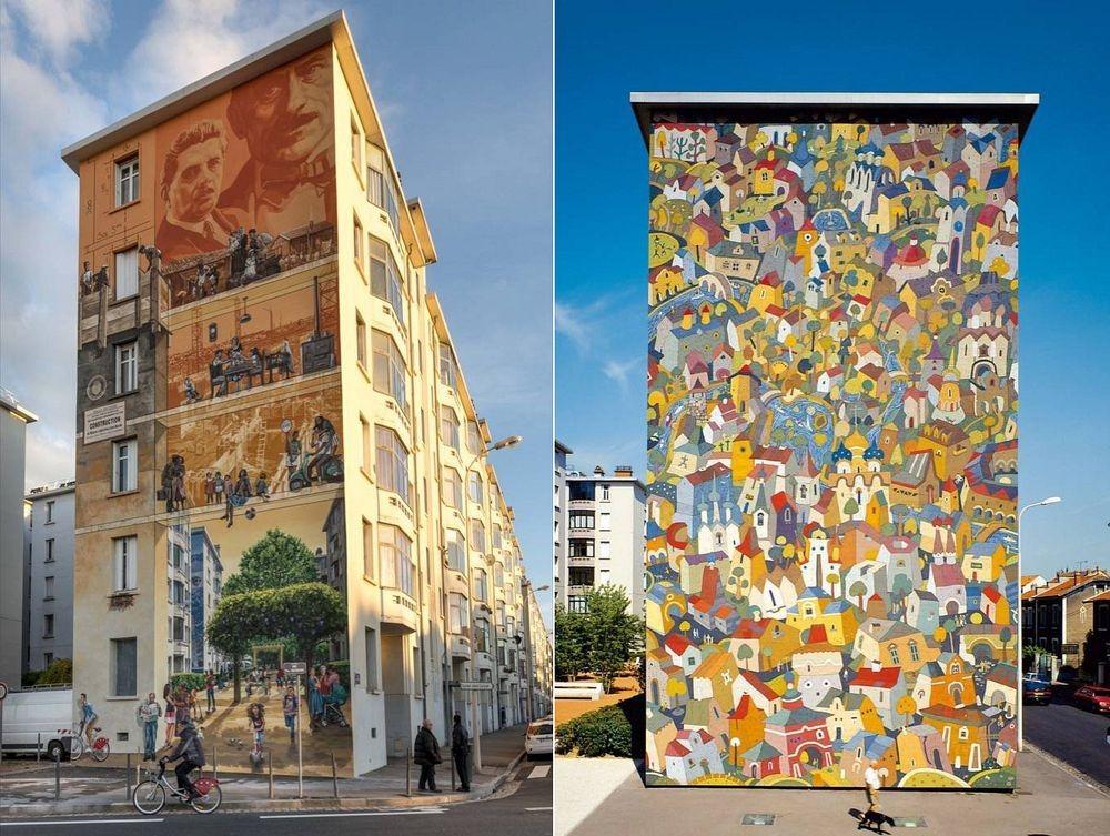 Lyon, kota mural di Perancis (dok. Amusing Planet)