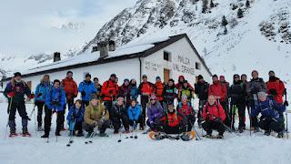 Corso Escursionismo in Ambiente Innevato 2016