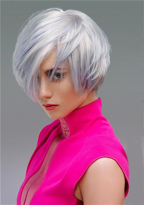 Hair:short hairstyles with different colors for 2018 1