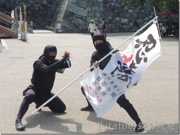 名古屋城的忍者隊