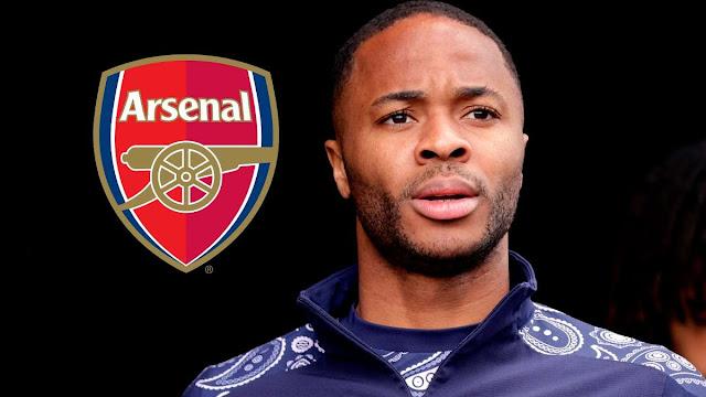 Raheem Sterling photo at Arsenal