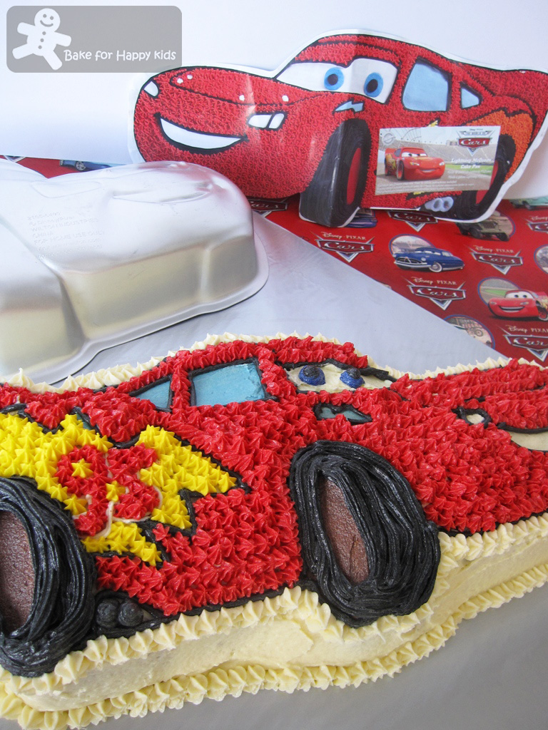 Bake for Happy Kids Lightning McQueen cake
