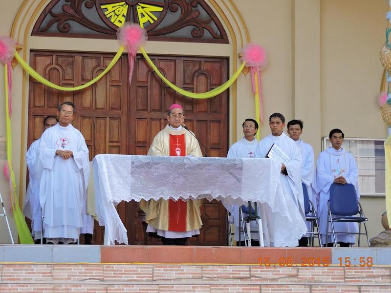 Thánh lễ khai mạc năm thánh mừng Ngọc Khánh thành lập giáo xứ và mừng lễ bổn mạng tại giáo xứ Tân Bình