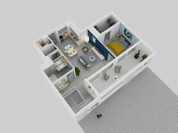 Appartement 5 pièces 133,44 m2