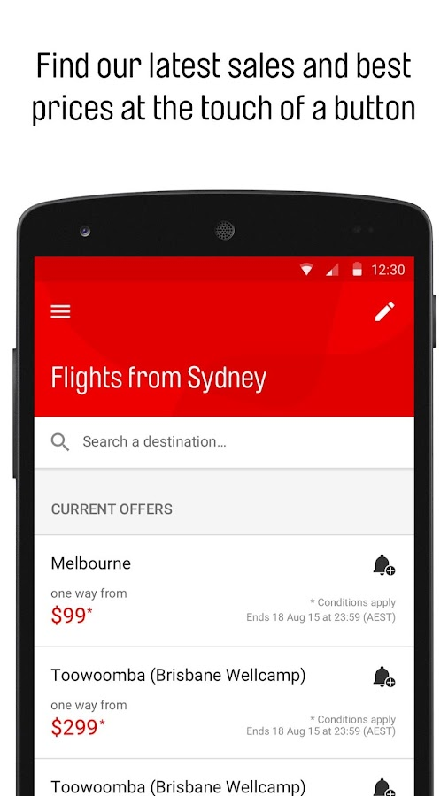 how to add flights to calendar from qantas app