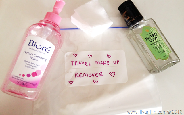 DIY Make up Remover Sheet