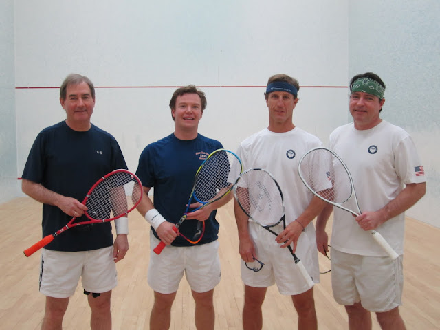 2012 State A Doubles: Finalists - Sandy Tierney & Pat Malloy; Champions - Chris Spahr & Doug Lifford