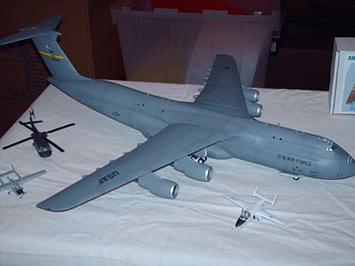 Anigrand C-5 Galaxy model photo
