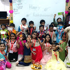 RAKSHA BANDHAN CELEBRATION BY SR KG SECTION (2017-18) WITTY WORLD, BANGUR NAGAR