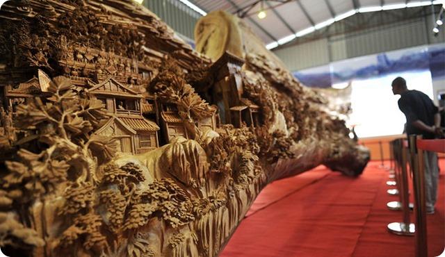 Zheng Chunhui's stunning wood sculpture-6