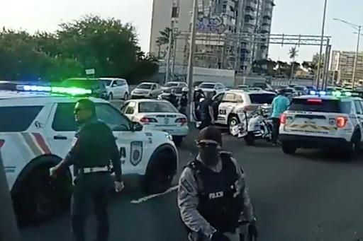Three San Juan police officers murdered by carjacker