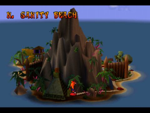 Crash Bandicoot Map Playstation 1