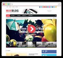 MaxBlog - Responsive Magazine Blogger Template - 11