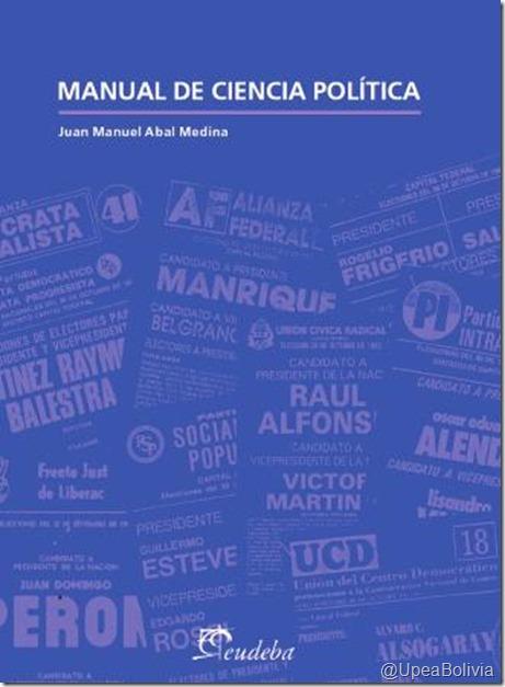 Libros sobre ciencias políticas en la UPEA