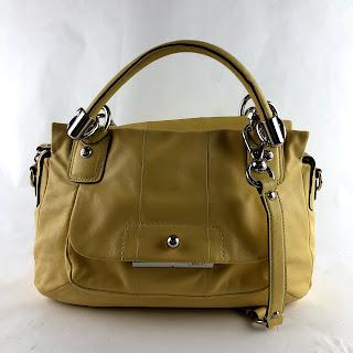*SALE*  Coach Yellow Handbag
