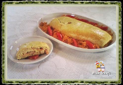 Rocambole de camarão 1