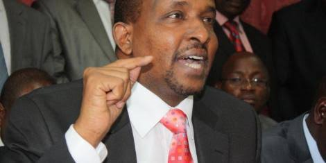 National Assembly Majority Leader Aden Duale. PHOTO | FILE
