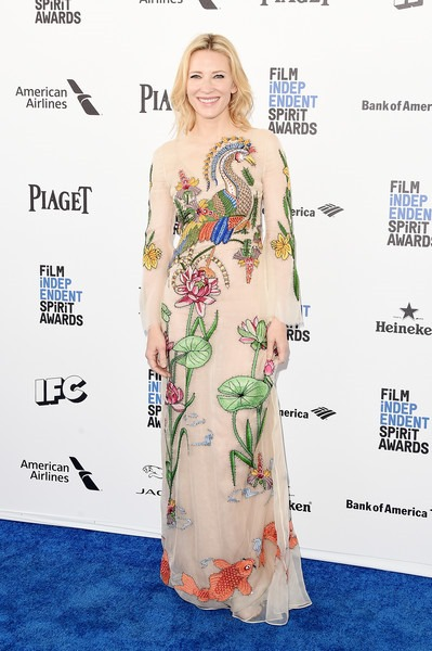 Cate Blanchett attends the 2016 Film Independent Spirit Awards