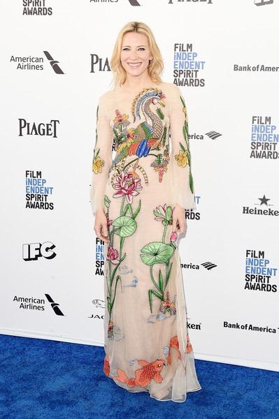 Cate Blanchett attends the 2016 Film Independent Spirit Awards