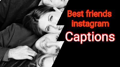 best friends Instagram Captions