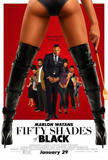 Πενήντα Αποχρώσεις του Μαύρου (Fifty Shades Of Black) Poster