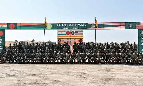 Indo-US exercise 'Yudh Abhyas' comes to an end in Rajasthan