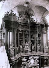 Photo: Organo. Saint- Sulpice ( 6 arr), 1903 .- EUGÈNE ATGET