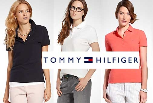 Kit c 3 Camisas Gola Polo Tommy Feminina a11f78b630a16