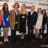 OIC - ENTSIMAGES.COM - Rupert Hill, Diana Vickers and cast at the Film4 Frightfest on Monday   of  Awaiting   UK Film Premiere at the Vue West End in London on the 31st  August 2015. Photo Mobis Photos/OIC 0203 174 1069