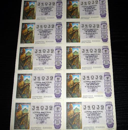 Loteria Nacional- quipus c. inca