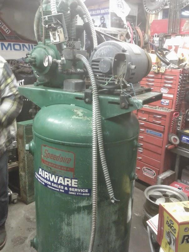 Speedaire compressor with dayton 2n977 motor electrical for Dayton air compressor motor