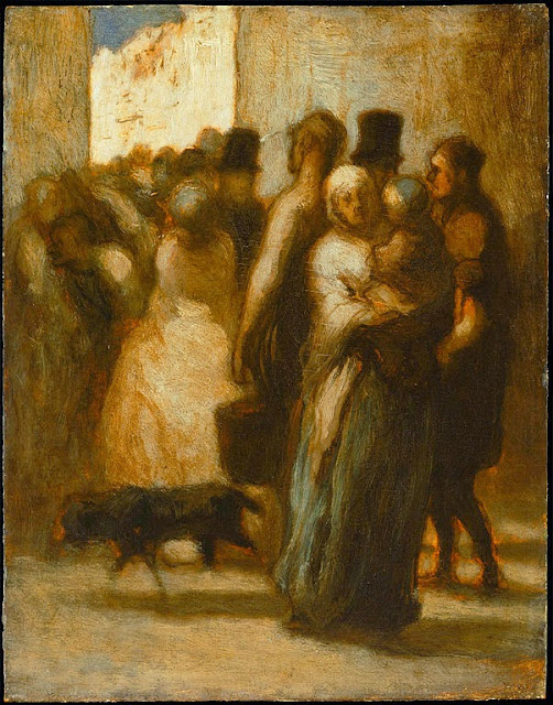 Honoré Daumier - To the Street - Google Art Project
