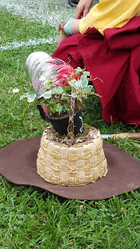 Flowerpot hat at the Ohio Renaissance Festival