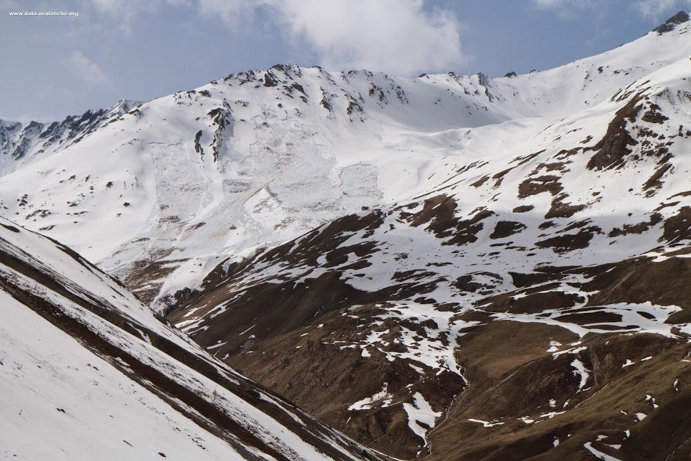Avalanche Maurienne, secteur Aiguille d'Argentière, Vallon du Goléon - Photo 1 - © Duclos Alain